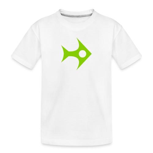 Fish-Icon - Teenager Premium Bio T-Shirt