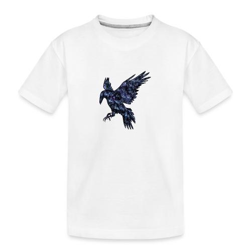 Ravn - Premium økologisk T-skjorte for tenåringer