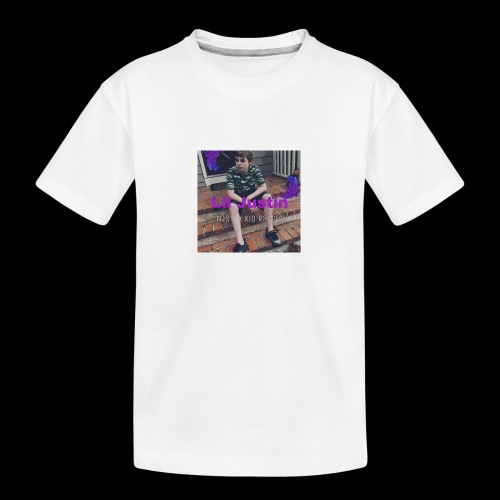 Lil Justin - Teenager Premium Organic T-Shirt