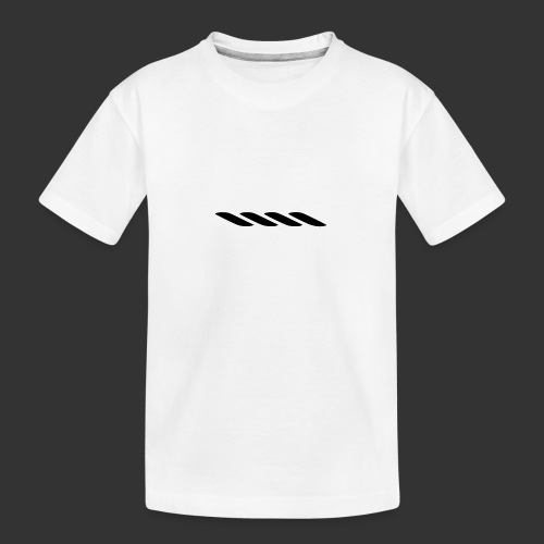 Rope With Bite Logo - Teenager Premium Organic T-Shirt