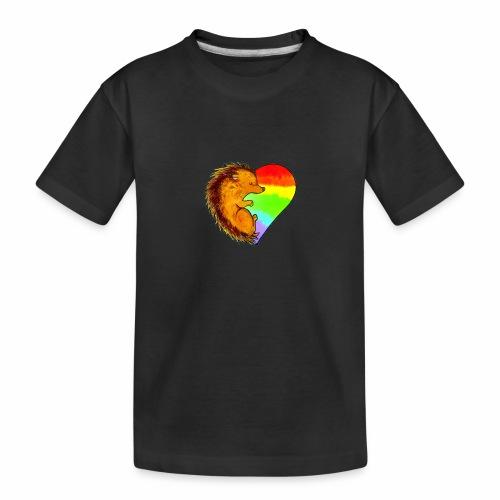 RICCIO - Maglietta ecologica premium per ragazzi