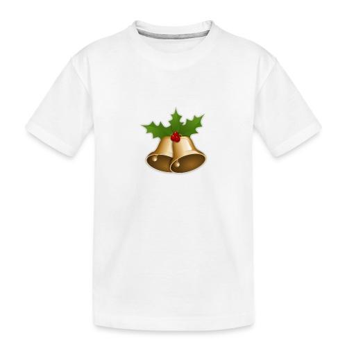 kerstttt - Teenager premium biologisch T-shirt