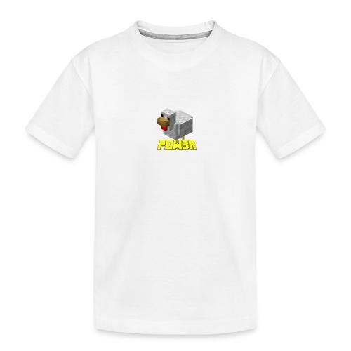 POw3r Baby - Maglietta ecologica premium per ragazzi