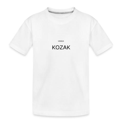 KOZAK - Ekologiczna koszulka młodzieżowa Premium