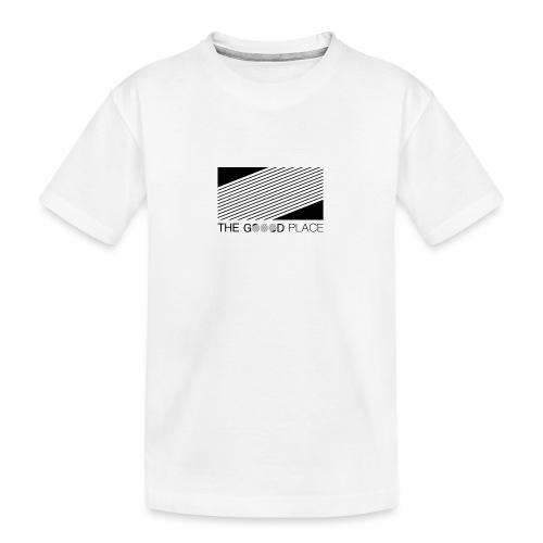 THE GOOOD PLACE LOGO - Teenager premium biologisch T-shirt