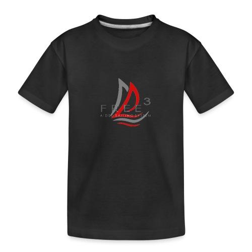 Free3 Aided Sailing System - Maglietta ecologica premium per ragazzi