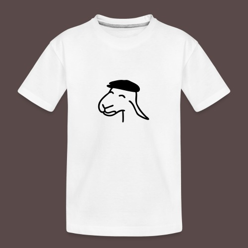 Pecorella contadina - Maglietta ecologica premium per ragazzi