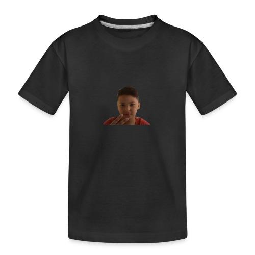 WIN 20170901 115015 burned 1 - Teenager premium biologisch T-shirt