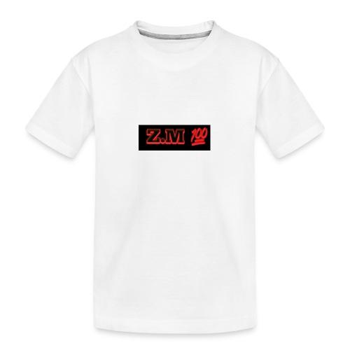 Z.M 100 - Teenager Premium Organic T-Shirt