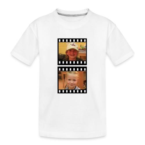 lente tess png - Teenager premium biologisch T-shirt