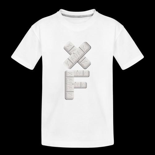 XF Xanax Logo - Teenager Premium Bio T-Shirt