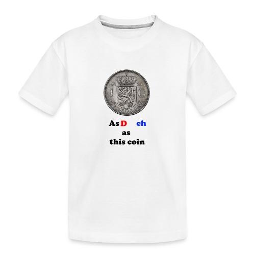 Hollandse Gulden - Teenager premium biologisch T-shirt