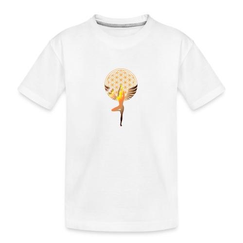 fleur de vie yoga 2 - T-shirt bio Premium Ado