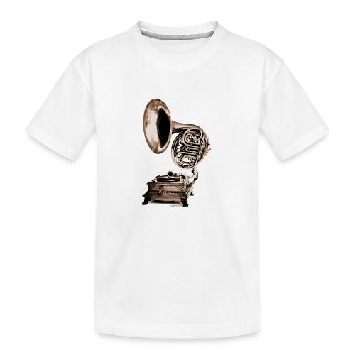 Grammo-Horn - Teenager Premium Bio T-Shirt