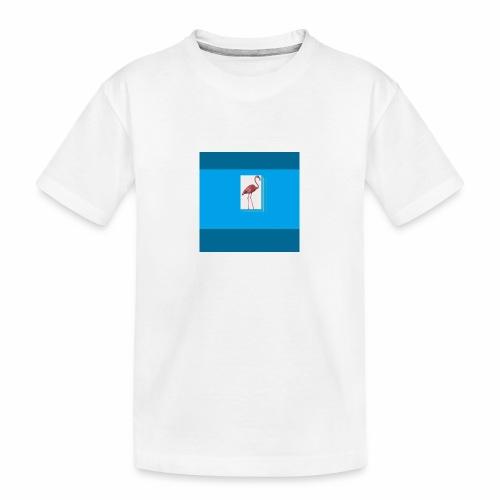 Flamingoscotteri - Maglietta ecologica premium per ragazzi