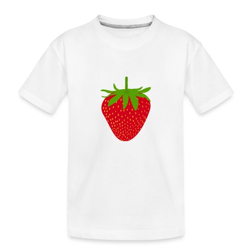 Sweet strawberry - Sweet Strawberry - Teenager Premium Organic T-Shirt