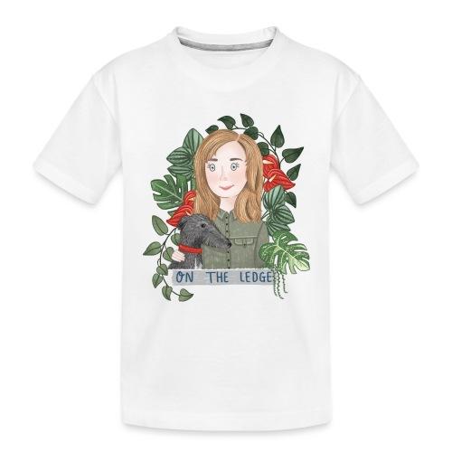 Jane and Wolfie - Teenager Premium Organic T-Shirt