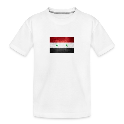 Syrien - Teenager Premium Bio T-Shirt