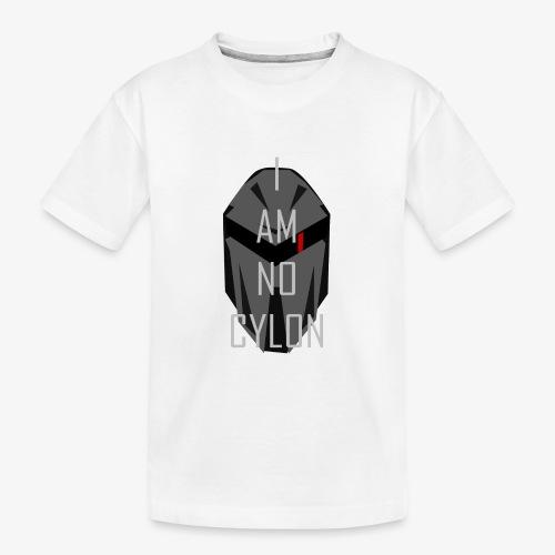 I am not a Cylon - Premium økologisk T-skjorte for tenåringer