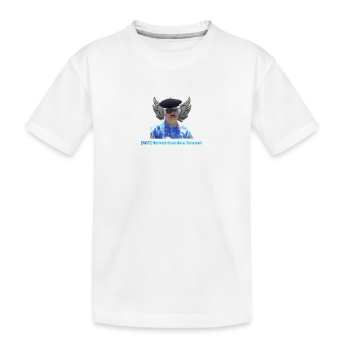World of tanks- RGT (Retired Grandma Torment) gear - Teenager Premium Organic T-Shirt