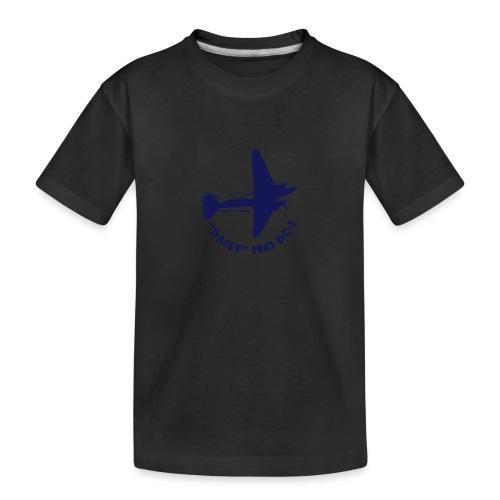 Daisy Flyover 1 - Ekologisk premium-T-shirt tonåring