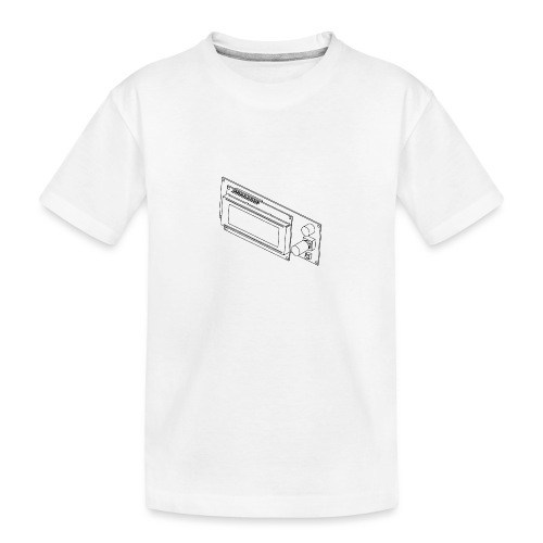 2004LCD (no text). - Teenager Premium Organic T-Shirt