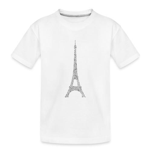 Eifelturm Paris - Teenager Premium Bio T-Shirt