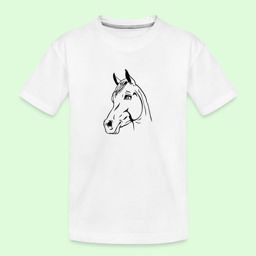 tête de cheval - T-shirt bio Premium Ado