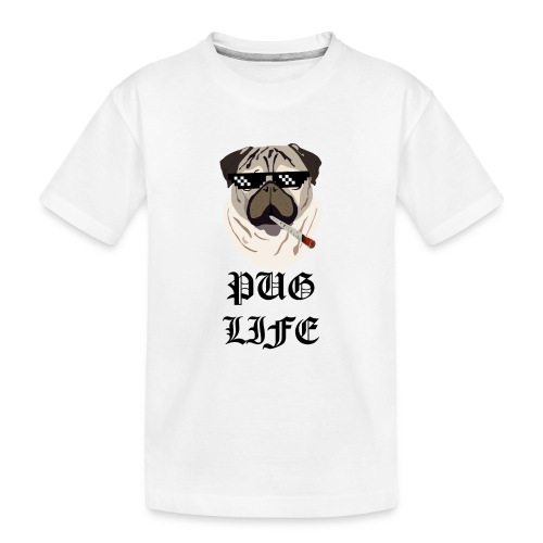 Pug Life - Teenager premium T-shirt økologisk