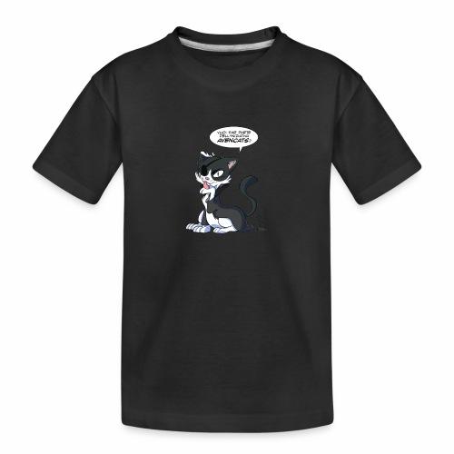 LARA - Maglietta ecologica premium per ragazzi