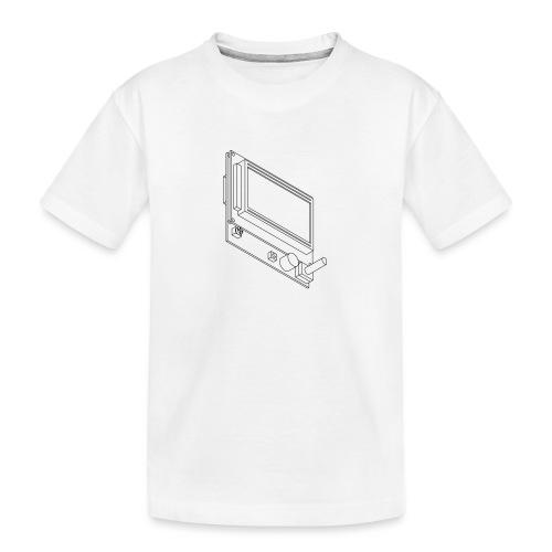 12864 Smart LCD (no text). - Teenager Premium Organic T-Shirt