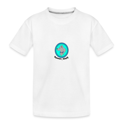 Spoon_Wolf_2-png - Teenager Premium Organic T-Shirt