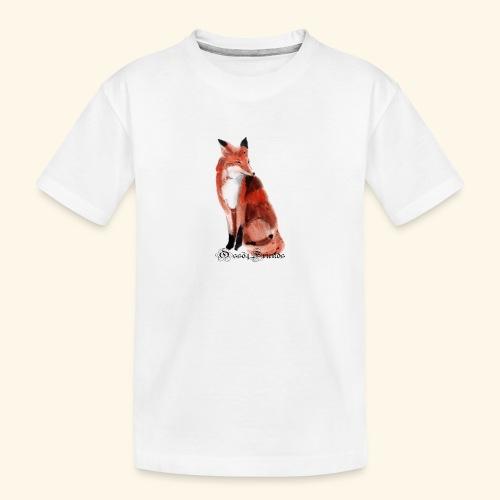 FOX - Maglietta ecologica premium per ragazzi