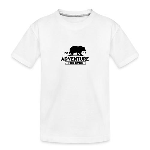 ADVENTURE FOR EVER - GRIZZLY - Maglietta ecologica premium per ragazzi