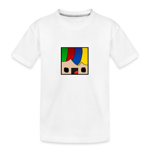 ProfSaurusCartoon - Teenager Premium Bio T-Shirt