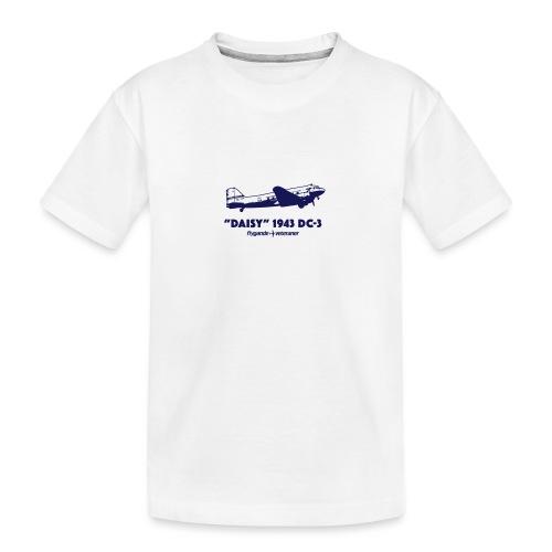 Daisy Flyby 1 - Ekologisk premium-T-shirt tonåring