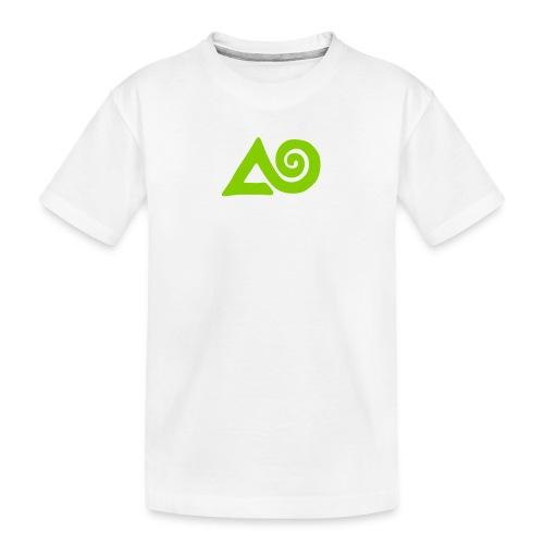 Logo manatu Wildnisseminare - Teenager Premium Bio T-Shirt