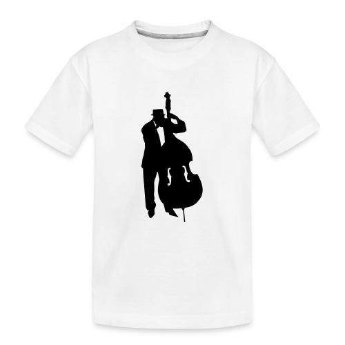 Kontrabass - Teenager Premium Bio T-Shirt