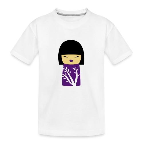 Motif Poupée Japonaise 1 - T-shirt bio Premium Ado