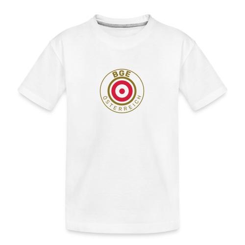 BGE in Österreich mit Fahne - Teenager Premium Bio T-Shirt