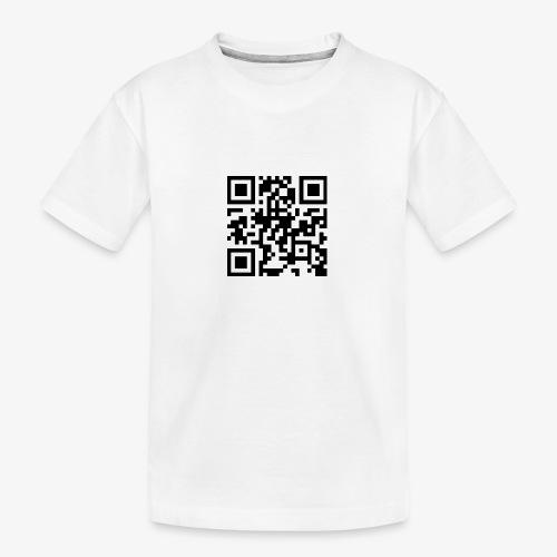 QR Code - Teenager Premium Organic T-Shirt