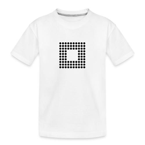 Minimal Square - Camiseta orgánica premium adolescente