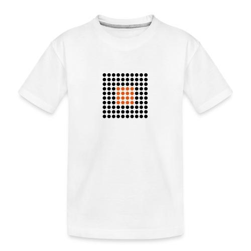 Square Dots - Camiseta orgánica premium adolescente