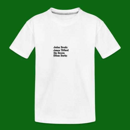 Glog names - Teenager Premium Organic T-Shirt