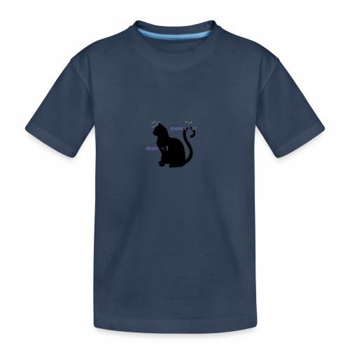 Mon Chat Mon <3 - T-shirt bio Premium Ado