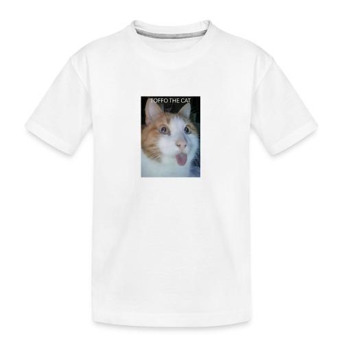 TOFFO THE CAT - Teinien premium luomu-t-paita