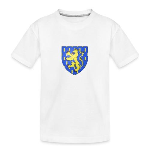 Blason de la Franche-Comté avec fond transparent - T-shirt bio Premium Ado