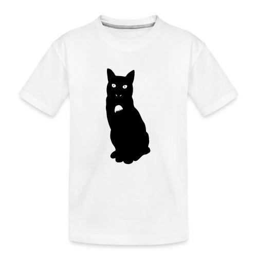Knor de kat - Teenager premium biologisch T-shirt