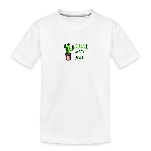 Cacti Ned Au -Kaktus- - Teenager Premium Bio T-Shirt