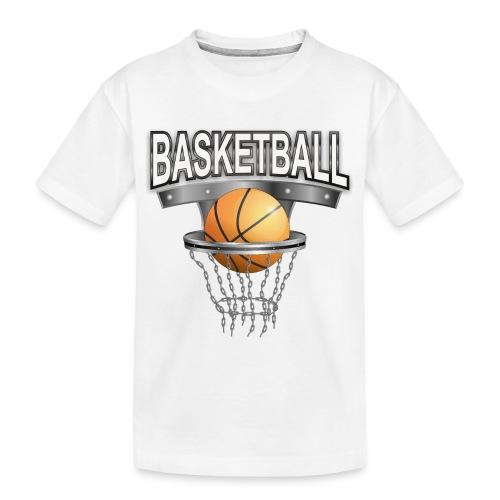 basketball shirt - Teenager Premium Bio T-Shirt